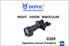 Manual for D209b